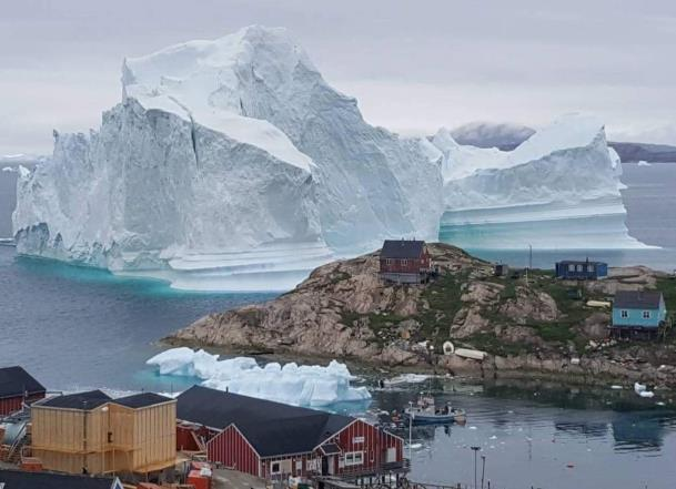 Greenland residents traumatized by climate change