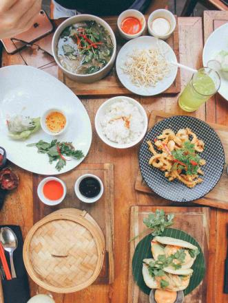 Here you can eat delicious food on the magical island of Bali
