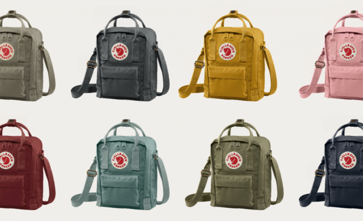 New look for iconic Fjällräven bag