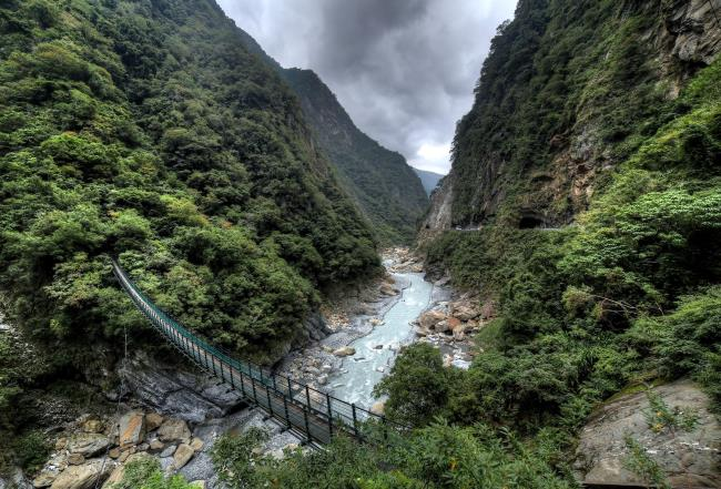 Power of nature: the Taroko gorge in Taiwan