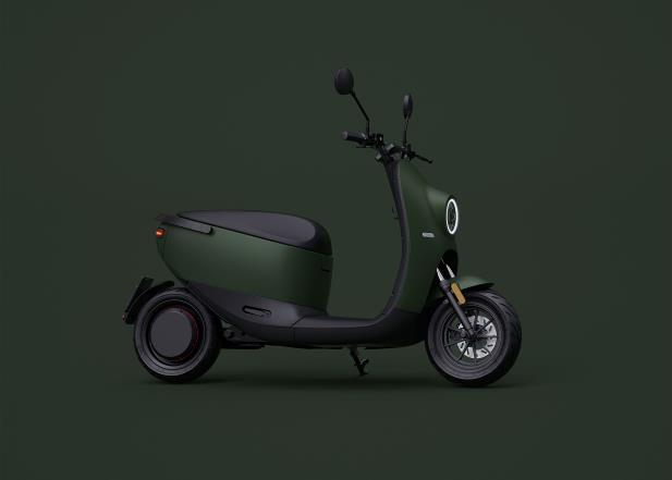 New unu Scooter is electric and especially very cool