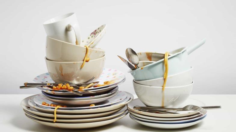 How washing dishes helps against stress