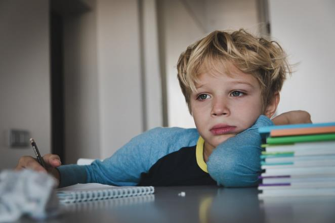 The parenting issue: son (7) does not do his school duties