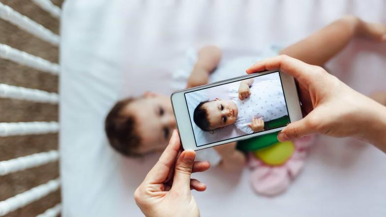 The dangers of sharing photos of your kids online