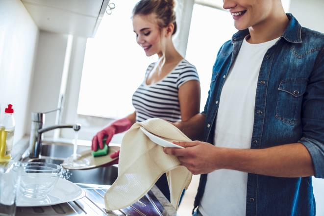 Cleaning together can boost your relationship