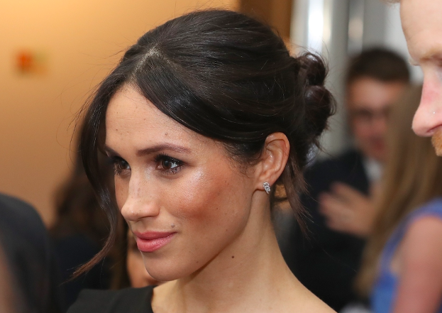 This is why Meghan Markle so often wears a messy bun