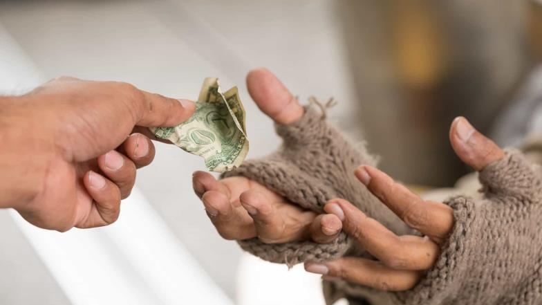 People with less money are more generous