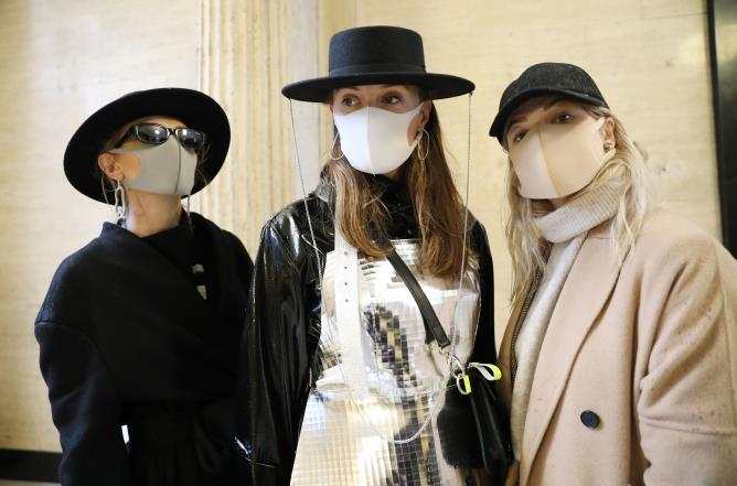 See: this fashion brand is now launching trendy mouth masks