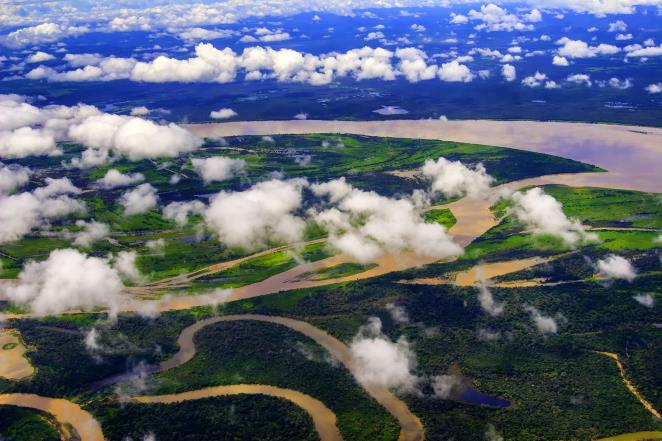 Amazing Amazon: river and rainforest of Brazil