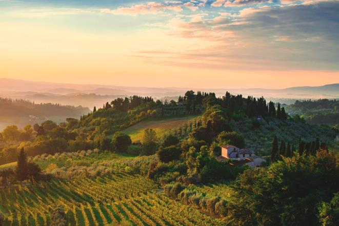 Learn Italian from locals in the beautiful surroundings of Tuscany