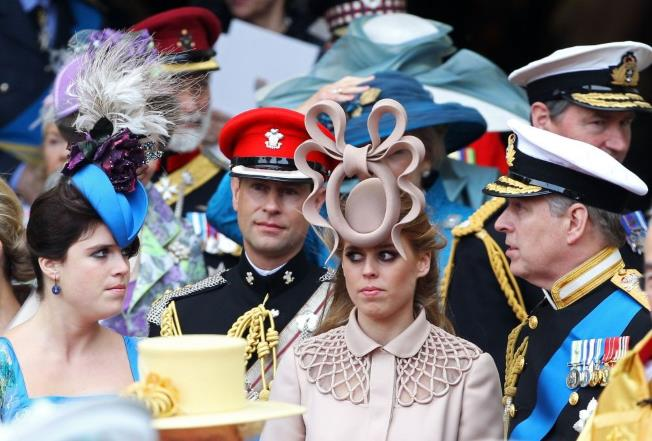 This is why Princesses Beatrice & Eugenie wear (bizarre) headwear