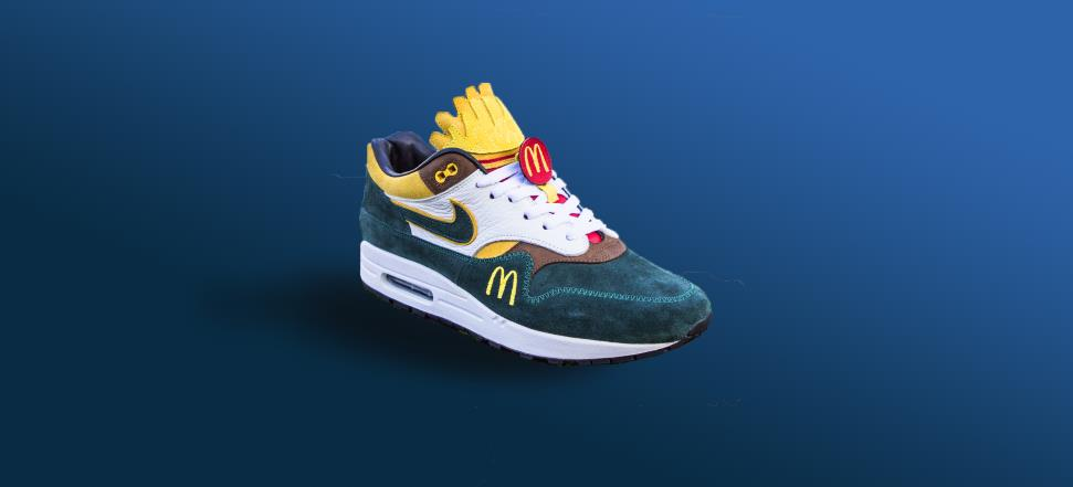 You're the coolest guy ever with the McSneaker anyway