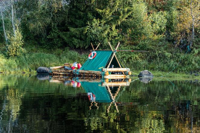 Rafting and wild camping on the longest river in Scandinavia