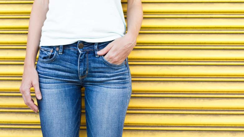 Experts advise never to wash jeans
